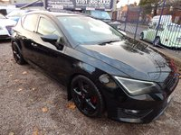 USED 2014 14 SEAT LEON 2.0 TDI FR TECHNOLOGY 5d 150 BHP 1/2 LEATHER INTERIOR, AIR CONDITIONING , ALLOYS, SAT NAV