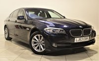 USED 2013 63 BMW 5 SERIES 2.0 520D SE 4d 181 BHP + 1 PREV OWNER  + AIR CON + AUX + BLUETOOTH + SERVICE HISTORY