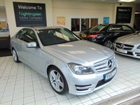 USED 2013 63 MERCEDES-BENZ C-CLASS 2.1 C220 CDI BLUEEFFICIENCY AMG SPORT 4d AUTO 168 BHP