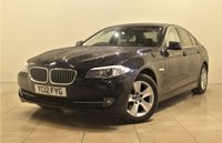 USED 2012 12 BMW 5 SERIES 2.0 520D EFFICIENTDYNAMICS 4d 181 BHP + 1 PREV OWNER +  SAT NAV + AIR CON + AUX + BLUETOOTH