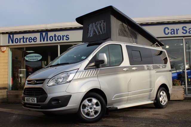 View our FORD TRANSIT CUSTOM CAMPER