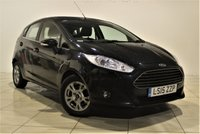 USED 2015 15 FORD FIESTA 1.6 ZETEC ECONETIC TDCI 5d 94 BHP + 1 OWNER + SERVICE HISTORY + AUX + AIR CON
