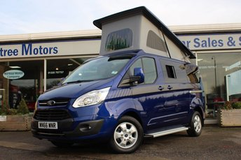 View our FORD TRANSIT CAMPERVAN