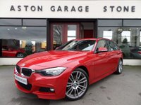 USED 2015 65 BMW 3 SERIES 2.0 320D M SPORT TOURING AUTO 188 BHP **SAT NAV * LEATHER * 19S** ** FULL BMW SERVICE HISTORY **