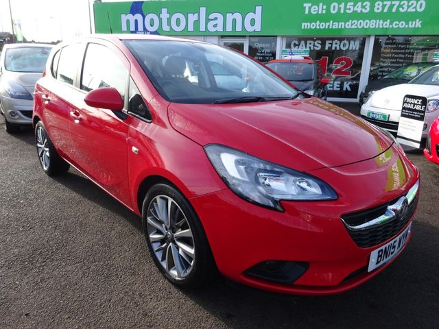 USED 2015 15 VAUXHALL CORSA 1.4 EXCITE AC ECOFLEX 5d 89 BHP JUST ARRIVED TEST DRIVE TODAY