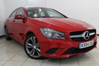 USED 2014 64 MERCEDES-BENZ CLA 1.8 CLA200 CDI SPORT 4DR 136 BHP FULL MERCEDES SERVICE HISTORY + BLUETOOTH + PARKING SENSOR + CLIMATE CONTROL + CRUISE CONTROL + MULTI FUNCTION WHEEL + 18 INCH ALLOY WHEELS