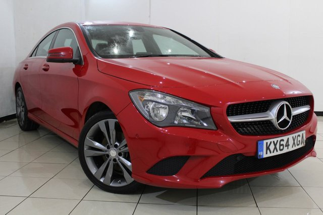View our 2014 64 MERCEDES-BENZ CLA 1.8 CLA200 CDI SPORT 4DR 136 BHP