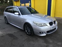 USED 2005 05 BMW 5 SERIES 2.5 525D SPORT TOURING 5d AUTO 175 BHP