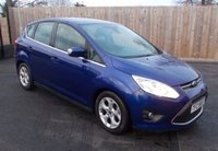 USED 2014 FORD C-MAX 1.6 ZETEC TDCI 5d 114 BHP - £30.00 PER YEAR ROAD TAX
