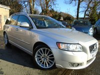 USED 2011 11 VOLVO V50 1.6 DRIVE SE LUX S/S 5d 113 BHP TOP SPEC DIESEL ESTATE+GOOD HISTORY
