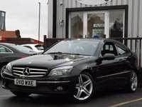 USED 2010 10 MERCEDES-BENZ CLC CLASS 1.6 CLC 160 BLUEEFFICIENCY SPORT 3d AUTO 129 BHP SUPERB LOOKING CAR, GREAT CONDITION, GOOD MOT (JUL 18) NO ADVISORIES.