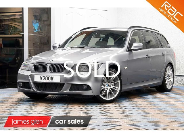 USED 2011 11 BMW 3 SERIES 3.0 325D M SPORT TOURING 5d AUTO 202 BHP