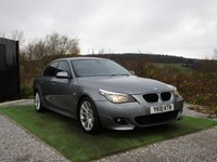 USED 2010 10 BMW 5 SERIES 2.0 520D M SPORT BUSINESS EDITION 4d AUTO 175 BHP