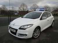 USED 2012 62 RENAULT MEGANE 1.5 GT LINE TOMTOM ENERGY DCI S/S 5d 110 BHP Part Exchange Welcome