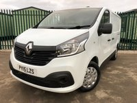 USED 2015 15 RENAULT TRAFIC 1.6 SL27 BUSINESS PLUS DCI S/R P/V 1d 115 BHP FACELIFT AIR CON CARGO LINING N/S LOADING DOOR ONE OWNER NO FINANCE REPAYMENTS FOR 2 MONTHS STC. COMMERCIAL (£9200+1840VAT). FACELIFT. STUNNING WHITE WITH GREY CLOTH TRIM. AIR CON. BULKHEAD. CARGO LINING. N/S LOADING DOOR. PARKING SENSORS. BLUETOOTH PREP. 3 SEATER. R/CD PLAYER. 6 SPEED MANUAL. PAS. EW. MFSW. ONE OWNER FROM NEW. TEL 01937 849492