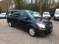 USED 2015 15 MERCEDES-BENZ VITO 2.1 114 BLUETEC TOURER SELECT 8 SEAT LWB Air Conditioning, New Shape, 8 Seats