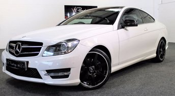 2013 MERCEDES-BENZ C CLASS 2.1 C220 CDI BLUEEFFICIENCY AMG SPORT PLUS 2d AUTO 168 BHP £SOLD