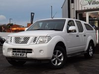 USED 2014 64 NISSAN NAVARA 2.5 DCI VISIA 4X4 SHR DCB 1d 144 BHP FULL DEALER SERVICE HISTORY, GREAT CONDITION AND LONG MOT