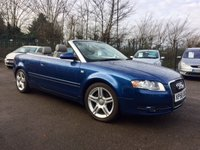 2008 AUDI A4 2.0 TDI CABRIOLET SPORT 2d AUTOMATIC SOON BE SPRING/SUMMER TIME! £4500.00