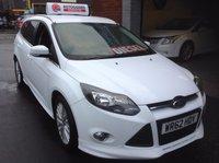USED 2012 62 FORD FOCUS 1.6 ZETEC S TDCI ESTATE £20 Road tax......Stunning Car