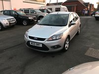 USED 2010 10 FORD FOCUS 1.6 ZETEC TDCI 5d 109 BHP Full Main Dealer History-1 Former Keeper-Diesel