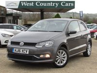 USED 2016 16 VOLKSWAGEN POLO 1.0 MATCH 3d 60 BHP Full Volkswagen History, Great Value