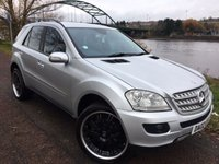 USED 2007 07 MERCEDES-BENZ M CLASS 3.0 ML280 CDI EDITION S 5d 188 BHP **STUNNING BLACK ALLOYS**