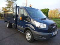 2015 FORD TRANSIT 350 L4 Extra Lwb Double Dropside With Integral  Beavertail 2.2Tdci 125 Ps £19995.00