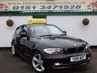 USED 2010 10 BMW 1 SERIES 2.0 116I SPORT 3d 121 BHP FULL SERVICE HISTORY, 59,000 MILES