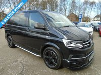 USED 2017 17 VOLKSWAGEN TRANSPORTER 2.0 T32 TDI SPORTLINE KOMBI BMT AUTO 201 BHP 10 Month Waiting List on these