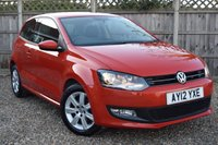 USED 2012 12 VOLKSWAGEN POLO 1.2 MATCH TDI 3d 74 BHP Free 12  month warranty