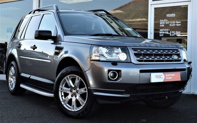 2014 14 LAND ROVER FREELANDER 2.2 TD4 GS 5d AUTOMATIC 150 BHP STOP/START