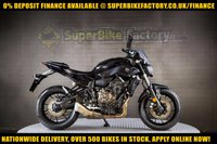 USED 2017 66 YAMAHA MT-07 ABS  GOOD & BAD CREDIT ACCEPTED, OVER 500+ BIKES IN STOCK