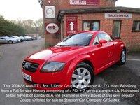 2004 AUDI TT 1.8 T 3d 177 BHP £3995.00