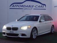 2012 BMW 5 SERIES 2.0 520D M SPORT TOURING 5d 181 BHP £11950.00
