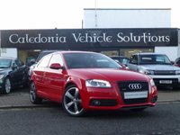 2012 AUDI A3 2.0 TDI S LINE SPECIAL EDITION 3d AUTO 138 BHP £10995.00