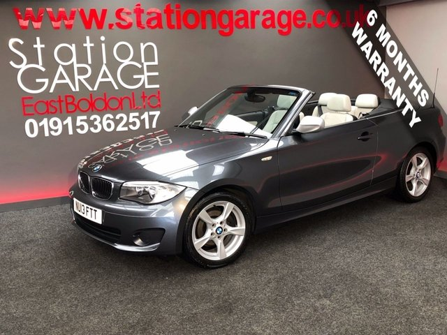 2013 13 BMW 1 SERIES 2.0 118D EXCLUSIVE EDITION 2d 141 BHP LEATHER