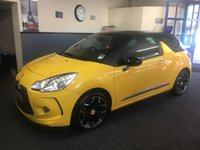USED 2012 62 CITROEN DS3 1.6 DSTYLE PLUS 3d 120 BHP Stunning DS3 in Race Yellow