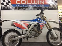 USED 2016 66 HONDA CRF 250R 249cc CRF 250 R-G  ONE OWNER, ONLY 900 MILES!!!
