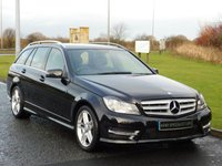 USED 2013 13 MERCEDES-BENZ C CLASS 2.1 C220 CDI BLUEEFFICIENCY AMG SPORT 5d AUTO 168 BHP SAT NAV, HEATED SEATS, AMG SPORT