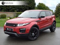 USED 2016 66 LAND ROVER RANGE ROVER EVOQUE 2.0 TD4 SE TECH 5d AUTO 177 BHP 2017 MODEL YEAR  2017 MODEL YEAR
