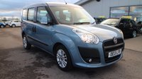 USED 2013 13 FIAT DOBLO 1.6 MULTIJET ELEGANZA 5d 105 BHP LOW DEPOSIT OR NO DEPOSIT FINANCE AVAILABLE.