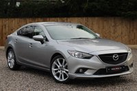 USED 2013 63 MAZDA 6 2.2 D SPORT NAV 4d 148 BHP ***FULL LEATHER*** ***SATELLITE NAVIGATION*** ***HEATED FRONT SEATS***