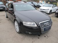 2005 AUDI A6 2.0 TDI S LINE 4d 138 BHP ..+ NEW MOT ..VERY SOLID AND ECONOMICAL £2699.00