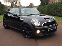 USED 2011 11 MINI CONVERTIBLE 2.0 COOPER SD 2d AUTOMATIC LOW MILES MEGA SPEC -LOW MILES FACTORY FITTED EXTRAS CHILLI PACK-SAT NAV-PARKING SENORS-HEATED SEATS+MORE FULL SERVICE HISTORY ALSO SERVICED  M-O-T TILL 09-2018 BETS COLOUR COMBO ENQUIRE TODAY BEST FINANCE RATES AVAILABLE