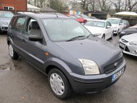 2003 FORD FUSION 1.4 FUSION 1 5d 78 BHP + V LOW MILES + GREAT CONDITION £1499.00