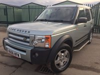 USED 2006 06 LAND ROVER DISCOVERY 2.7 3 TDV6 S 5d 188 BHP 4WD 7 SEATER ALLOYS SIDE STEPS MOT 09/18 7 SEATER. SILVER MET WITH GREY CLOTH TRIM. CRUISE CONTROL. SIDE STEPS. 18 INCH ALLOYS. COLOUR CODED TRIMS. PRIVACY GLASS. PARKING SENSORS. BLUETOOTH PREP. CLIMATE CONTROL. R/CD PLAYER. MFSW. TOWBAR. MOT 06/18. SERVICE HISTORY. AGE/MILEAGE RELATED SALE. TEL 01937 849492