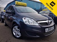 USED 2009 59 VAUXHALL ZAFIRA 1.9 EXCLUSIV CDTI 5d AUTO 118 BHP! p/x welcome! AUTO! 2 OWNERS! 7 SEATS! 76K MILES! SPORTS MODE! CLIMATE CONTROL! FINANCE AVB! FULL SERVICE HISTORY! NEW MOT & SERVICE! AUTO+2 OWNERS+7 SEATS+76K MILES+CLIMATE CONTROL+FULL S-HIST+SPORTS MODE+FINANCE AVB+NEW MOT&SRVC!