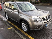 USED 2011 11 NISSAN X-TRAIL 2.0 TEKNA DCI 5d 171 BHP PRICE INCLUDES A 6 MONTH AA WARRANTY DEALER CARE EXTENDED GUARANTEE, 1 YEARS MOT AND A OIL & FILTERS SERVICE. 12 MONTHS FREE BREAKDOWN COVER