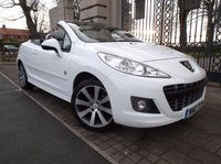 USED 2012 12 PEUGEOT 207 1.6 CC ROLAND GARROS 2d 120 BHP *** FINANCE & PART EXCHANGE WELCOME ***  ELECTRIC ROOF FULL LEATHER BLUETOOTH PHONE PARKING SENSORS AIR/CON CRUISE CONTROL